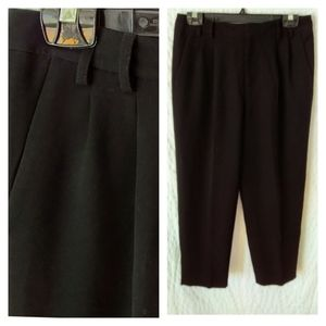 3/$30 T Tahari Petite Cropped Pleated Pants